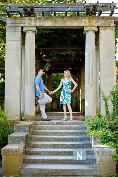 Nicole + Rob's Engagement :: Harkness Memorial Park :: Waterford, CT