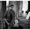 Le saxophoniste du Louvre