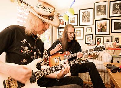 Walt and Garth, musicians