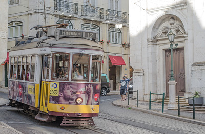 The historical tram of Lisbon