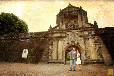 Fort Santiago Intramuros, Manila  Engagement shoot