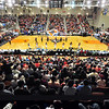 Photograph by BEAU CABELL<br /> Macon, Ga., 03/02/12:       <br /> Mercer tied it's biggest crowd ever at the University Center--3,497--in the team's loss to FGCU, 62-58.