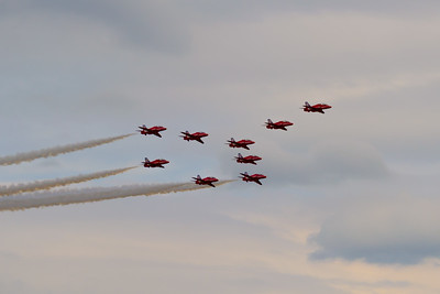 Red Arrows - Concorde Formation