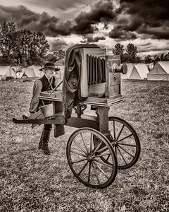 Large Wet Plate Camera