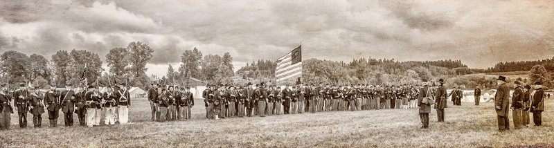 Union Army on the Parade Ground