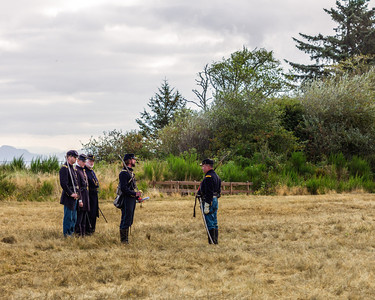 September 1st, 2012 at the Fort Stevens Civil War Reenactment.