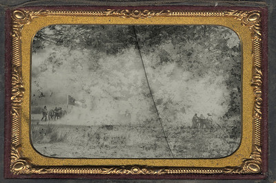 "The Fog of War Uncropped ""Digital Ambrotype"""