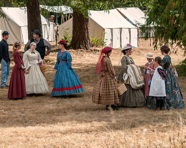 Town Folks September 22nd, 2012 at the McIver Civil War Reenactment.