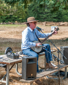 """Illinois"" Doug Tracy September 23rd, 2012 at the McIver Civil War Reenactment."