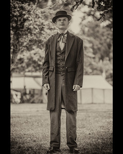 Young Gentleman Matted 8x10 Photo