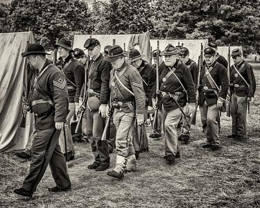 Union Troops 8x10