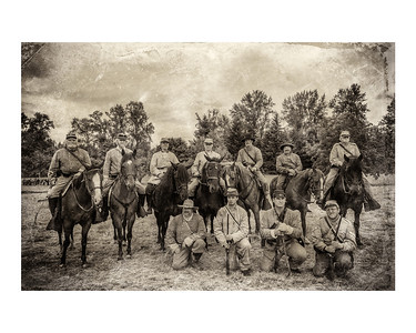 1st North Carolina Cavalry  Matted 8x10 Photo