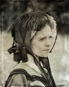 "Dressmaker 8x10 ""Digital Tintype"""