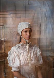 portrait of a dutch girl
