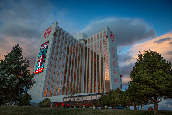 Grand Sierra Resort Sunset