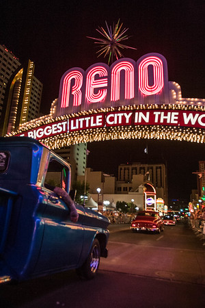 Hot August Nights Classic Truck Reno Arch