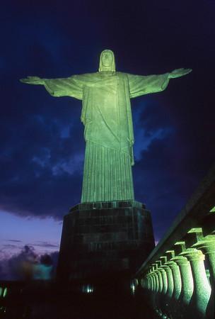 Cristo Redentor, Corcovado, Rio de Janeiro, 2003, Brasil.