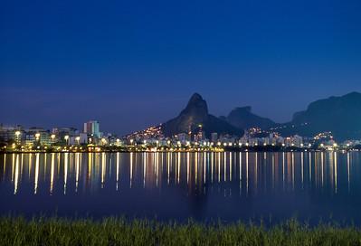 Lagoa Rodrigo de Freitas, Rio de Janeiro, 2003, Brasil.