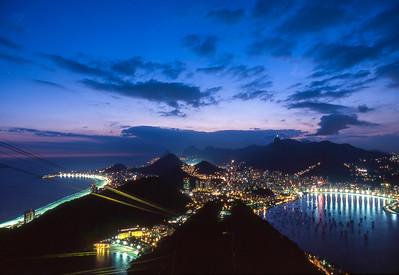 Vista do Pão de Açúcar, Rio de Janeiro, 2003, Brasil.