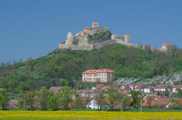 The Transylvanian Saxon citadel of Rupea