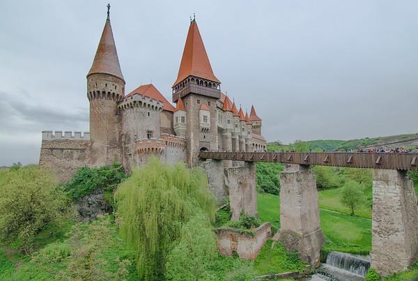 Corvin castle in Huneadora