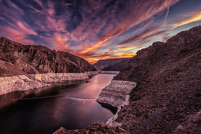 Colorado River Above the Hoover Dam