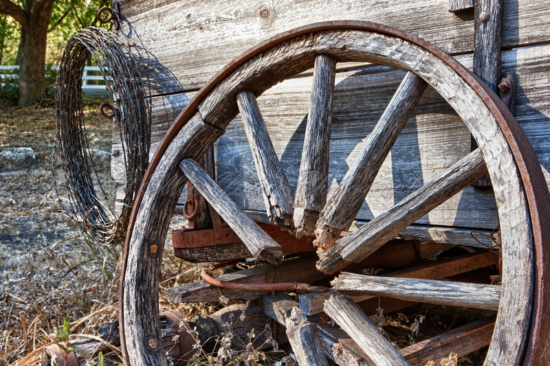 Broken Wagon Wheel