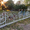 Public Art Bicycle Fence