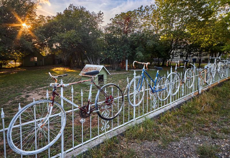 Salado Bicycles Fence