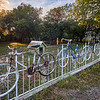 Salado Bicycles Fence
