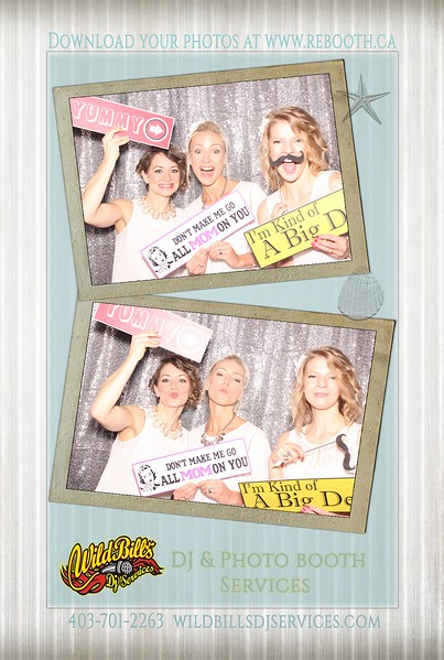 Photo booth layout - Bridal/Wedding Fair
