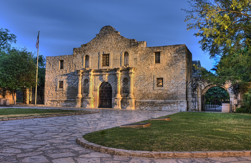 Mission Alamo (remove all pole and retouched)
