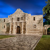 The Alamo at dawn ~  San Antonio, Texas