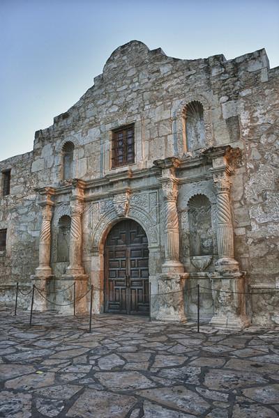Mission Alamo - Nik HDR Efex Pro