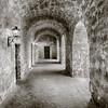 Mission Concepcion Hallway