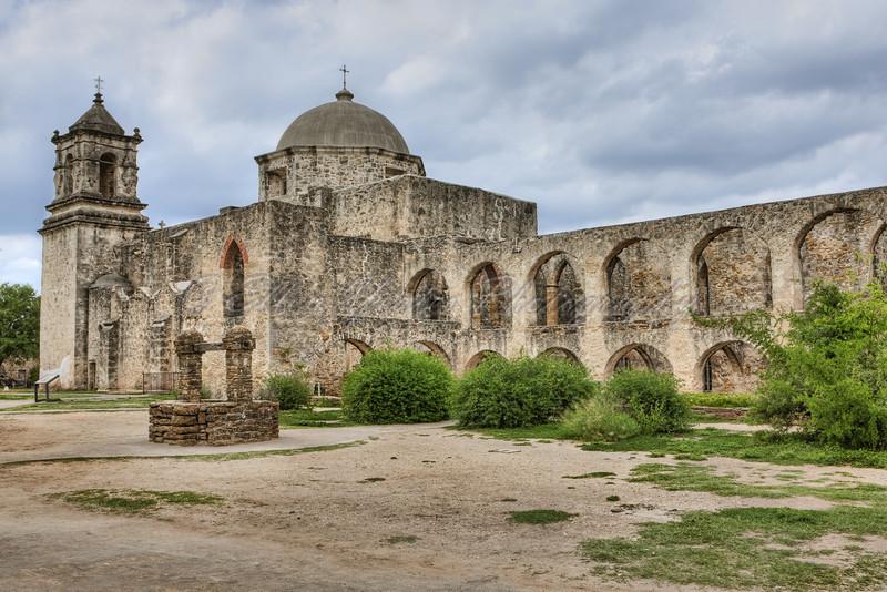 San Jose Mission at San Antonio