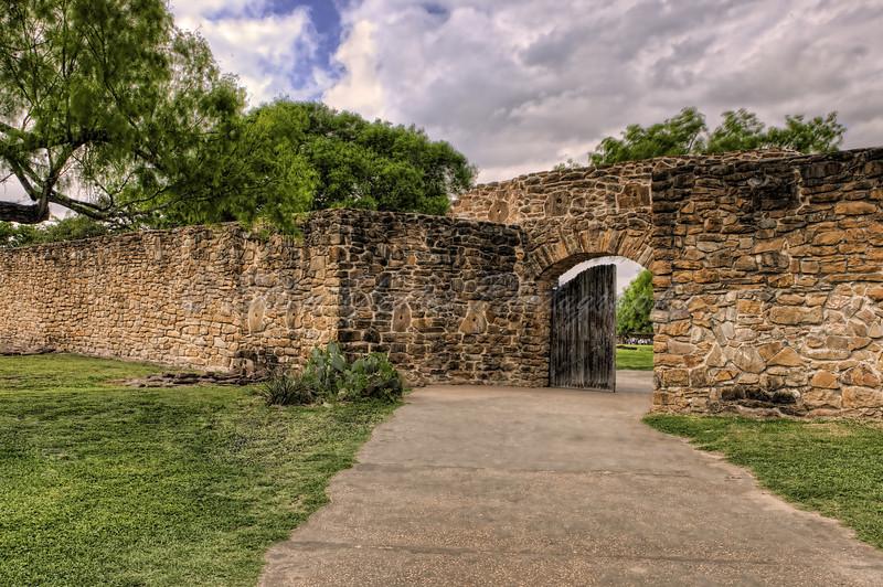 Mission Concepcion Gate