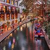 Riverwalk during Christmas Holiday