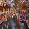 Riverwalk during Christmas Holiday