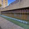 Riverwalk Water Fountainat San Antonio, Texas