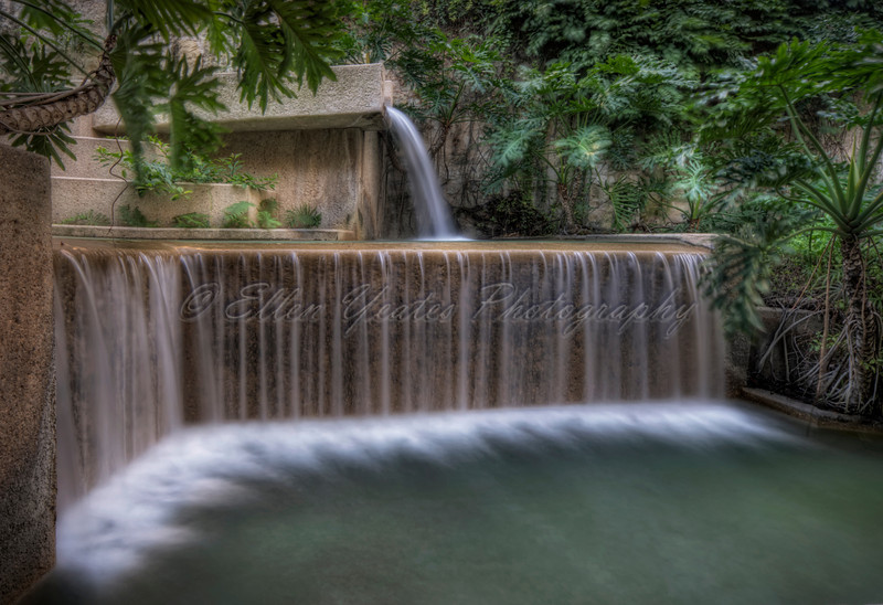 Riverwalk Waterfall at San Antonio