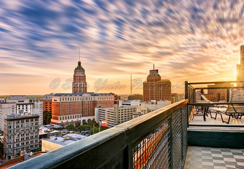 Sunset - San Antonio Skyline