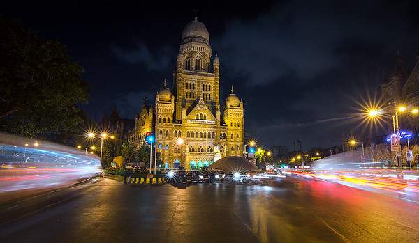 Municipal Corporation of Greater Mumbai - Late Night (Long Exposure)