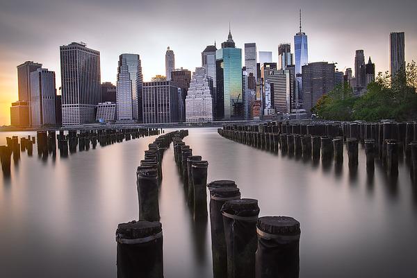 Manhattan from Brooklyn Bridge Park, NYC