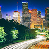 Houston Downtown from Buffalo Bayou