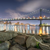 The Manhattan Bridge, New York