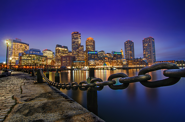 Downtown Skyline, Boston