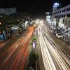 Opposite to Hubli Old Bus Stand - Pune-Bangalore Road (long exposure during late night)