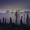 The Lost Pier of East Boston under Stormy Sky