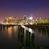 """The Pier One"" - Manhattan as-seen from Brooklyn Bridge Park, NYC"